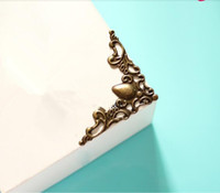 Wholesale 100 Brand New And Good Quality Vintage Decor Furniture Box Corner Protector Guard Desk Shelf Edge Cover