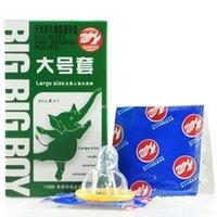 Wholesale Large size condom big condom box send with retail boxes