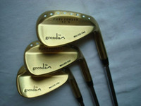 Wholesale hotselling golf clubs wedge set Grenda D8 wedge gold color set RH free ship