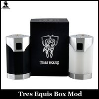 batteries and magnets - Tres Equis Box Mod Clone Switch Without Spring And Magnet Aluminium And Delrin Material Triple Batteries Mechanical Box Mod