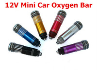 Wholesale New V Mini Auto Car Fresh Air Ionic Purifier Oxygen Bar Ozone Ionizer Cleaner