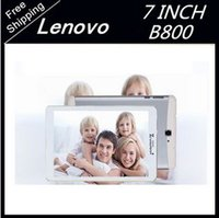 Wholesale Android Tablet lenovo inch Phone Call G GLTE Tablet Pc MT6592T Octa Core G RAM G ROM Dual SIM GPS Bluetooth FM tablet