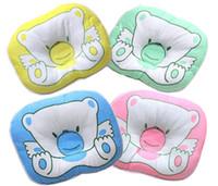 baby pillow infant - Cotton Towels Pet Pillow Newborn Boys Girls Pillow Softline Baby Pillow Cushion With Printed Cute Cartoon Infants Bedding Supplies J3027