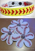 baseball clips - softball baseball headband baseball bracelet baseball keychain baseball headdress flower