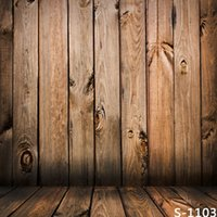 Wholesale 5 FT Custom Vintage Backgrounds Photography Backdrops Fotografia Children Vinyl Backdrops For Photography Wooden Floor Backdrops
