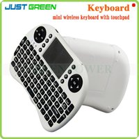 Wholesale UKB500 G Wireless Keyboard For Android TV Box Google TV Box xBox360 PS3 HTPC IPTV With adjustable functions Touchpad free post