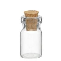 jar glass - 2014 New Tie Plug Tiny Glass Jar Glass Bottle Jewelry Vial Potion mm x10mm Jewelry Storage
