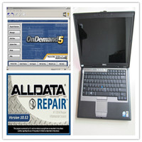 Wholesale Promotional Price alldata and mitchell software V10 alldata repair software mitchell in TB HDD Installed Well in GB D630 Laptop