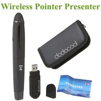 Wholesale car Convenient in1 Wireless Presenter Laser Pointer Pen Transmitter with USB Receiver Various System Supported for Meeting