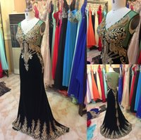 Wholesale Lace Bodice Special Occasion Dresses - Real Photos 2016 Mermaid Prom Dressess V Neck Gold Lace Beaded Floor Long Illusion Bodice Custom Made Special Occasion Gowns Evening Dress