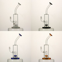 oil color - Mini pipe quot kinds of color gear perc glass bong oil rigs mm joint high quality