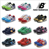 balance children - New Balance Children Shoes For Boys Girls Running Shoes NB Sneakers Cute Kids Athletic Boots Size C Y Sport Shoes