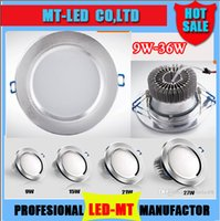21W led downlight - DHL x20 Led ceiling light W W W W W W dimmable Led Bulb V LED lighting led Downlight spotlight down light with led drive
