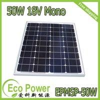 solar module - 50W V monocrystalline silicon Solar Panel Solar Cell for V solar photovoltaic power system Watt VDC PV solar Module