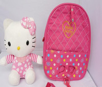 baby trend backpack - New Trends Cute D Hello Kitty Toy Baby Bags For Kids Girls Actical Pink Children Backpack School Bag High Quality