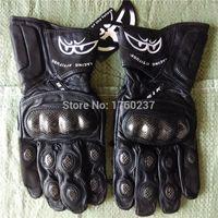 berik gloves - New Berik Racing Attitude Motorcycle Gloves Winter Warm Windproof Protective Gloves Genuine Leather Road Guantes Luvas