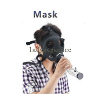 Cheap Gas Mask Water Pipes Sealed Acrylic Hookah Pipe Bong Filter Smoking Pipe 2015 new hot sale Free Shipping