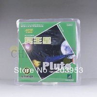 Wholesale free ship original table tennis rubber OUT Short pips Galaxy YINHE rubber series Pluto TT rubber with sponge