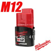 Wholesale NEW Milwaukee M12 V Volt Lithium Ion Wh Cordless Milwaukee V order lt no track