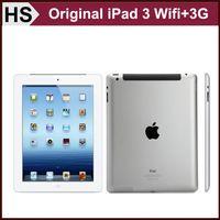 Wholesale Original Apple iPad WIFI G Cellular quot IOS A5X GB GB GB Warranty Included Black White Tablet DHL