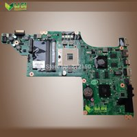 Wholesale new for HP DV6 DV6T Laptop motherboard HM55 Non Integrated DAOLX6MB6H1 REV H TESTED