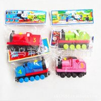 Wholesale 140pcs Free shopping TRAIN CAR OF wooden Complete set of car toy train toys set