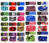 Wholesale outdoor Variety riding scarf Magic scarf seamless men and women cycling scarf sunscreen scarf mask windproof collars