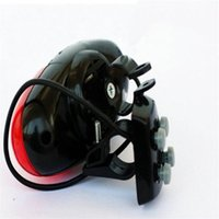 Wholesale 2014 Brand Outdoor sports Bicycle Loud Siren Sound LED Light Horn Bell Cycling Trumpet