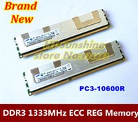 Wholesale Original RAM For Server computer GB GB DDR3 MHz ECC REG PC3 R Server memory CANN T WORK ON PC order lt no tra