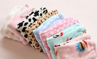 Cheap Mom girls Long Cartoon 8colors Monkey Pattern Pyjama Trousers Winter Warmth Child Family Pants Kids Women Coral Velvet Homewears L0935