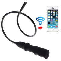 Wholesale Waterproof mm HD Video WiFi Wireless USB Flexible Inspection Camera Borescope Endoscope Medical For iPhone iPad Android