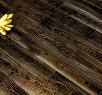 Wholesale Adamantine black and gold surface surface relief effects processing for living room BLING fashion Solid wood flooring professional export