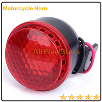 Wholesale 100 Quality Security A Class Alert siren horn speaker for Motorcycle E bike DC12V