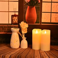arts home prices - Hot sale remote control color changing real wax cheap price led candle White LED flameless candle color changing candle