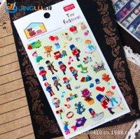 Wholesale Cartoon Toy Fesival Designs D Sticker Decoration Label Multifunction