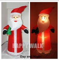 inflatable christmas - HOT Merry Christmas Decoration m Large Inflatable Santa Claus With Light Fan And Power Supply
