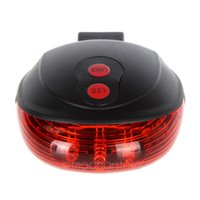 Wholesale DHL Cycling Bike Bicycle Projector Red Lamps Beam and LED Rear Tail Light US HM382
