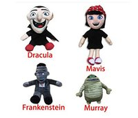 anime plush store - Amazing Toys store set Movie Hotel Transylvania Mavis Frankenstein Dracula Murray The Mummy Stuff Doll Plush Toy