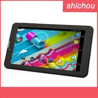Wholesale 7inch Tablets android Dual Core mth6572 android MB GB GPS bluetooth Wifi GHz G Phone Call unlocked phablet phone