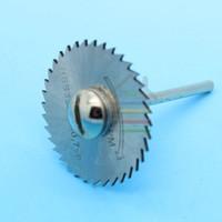 Wholesale mm HSS Circular Saw blades Set Cut off for Wood Aluminum Cutting Disc Dremel Rotary Tools Accessories