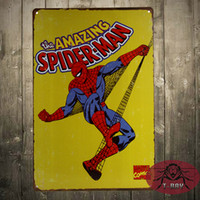 amazing antique - THE AMAZING SPIDER MAN RETRO POSTER A4 THICK Marvel Comics VINTAGE Wall Art