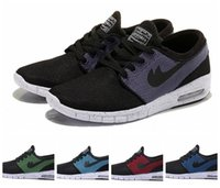 sports shoes skateboard - 2014 New Color Stefan Janoski Max Running Shoes Womens Sneakers Men Free Run Sport Skateboard Shoe Size Drop Shipping