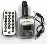 Wholesale Car bluetooth trainborn mp3 car fm transmitter car bluetooth speaker phone belt remote control