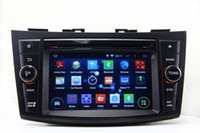 Swift android gps unit - Android Head Unit Car DVD Player for Suzuki Swift with GPS Navigation Radio BT USB AUX G WIFI