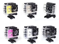 Wholesale SJ4000 Go pro Extreme Action Helmet Sport Camera Waterproof mini DVR Underwater M P Full HD Mini DV Gopro style