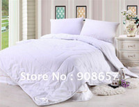 australian organic cotton - White Washable Natural Organic Australian Wool Filled Heavyweight Comforter Quilt Duvet Doona cm Queen Size KG GSM