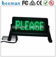 advertising board products - Leeman Sinosky hot products taxi roof top light signs led screen advertising display board message panel