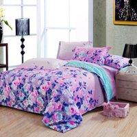 aqua pillows - new cute cheaper cotton girls bedding set pc duvet quilt covers flat sheet pillow sham full queen size pink aqua blue floral