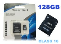 Wholesale sdxc High speed downl GB Micr SD Card MicroSD CLASS10 TOP TF Memory Card C10 Flash SDHC SD Adapter White Orange Retail Package