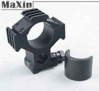 adjustable scope base - 5pcs Tactical Tri Rail side Dovetail mm Weaver Mount mm mm Adjustable Ring mm Rail Base Hunting Scope Flashlight